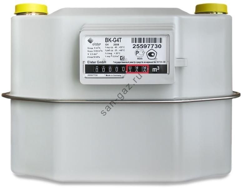 газовый счетчик вк g4 эльстер